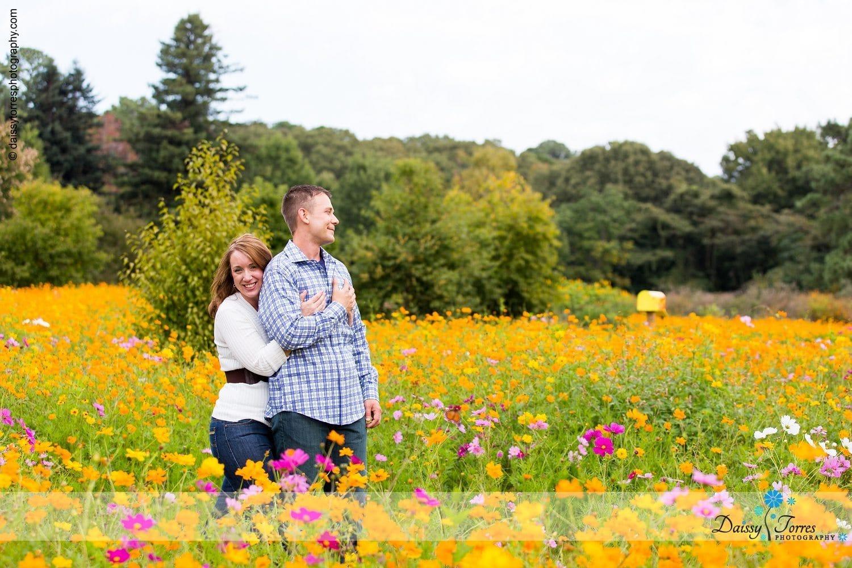 Norfolk Botanical Garden Engagement Session Alie Dan Daissy Torres Photography
