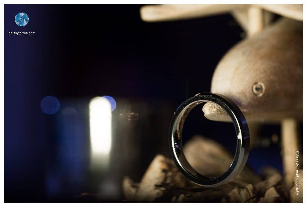 Virginia Aquarium Wedding - Groom ring