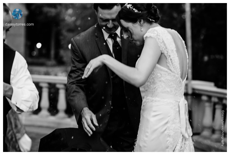 It's not a Russian wedding unless a glass breaks!