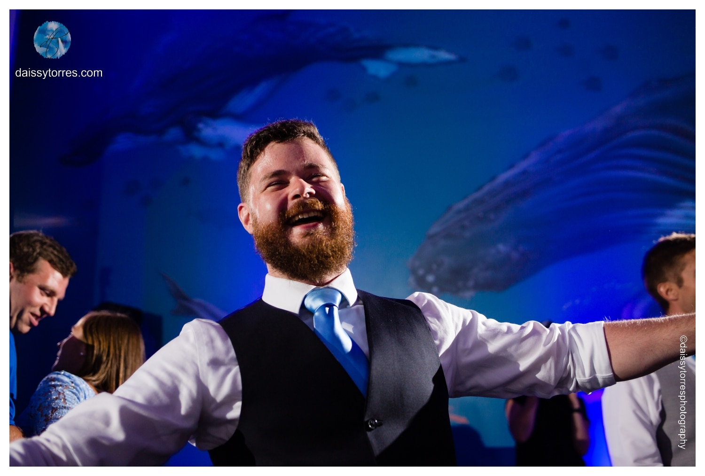Summer Virginia Aquarium Wedding